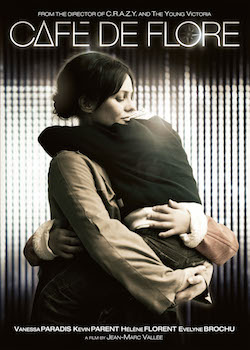 The protagonist of the film Café de Flore holds her son in her arms