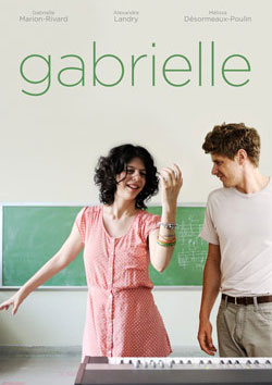 The main characters on the poster of the film Gabrielle