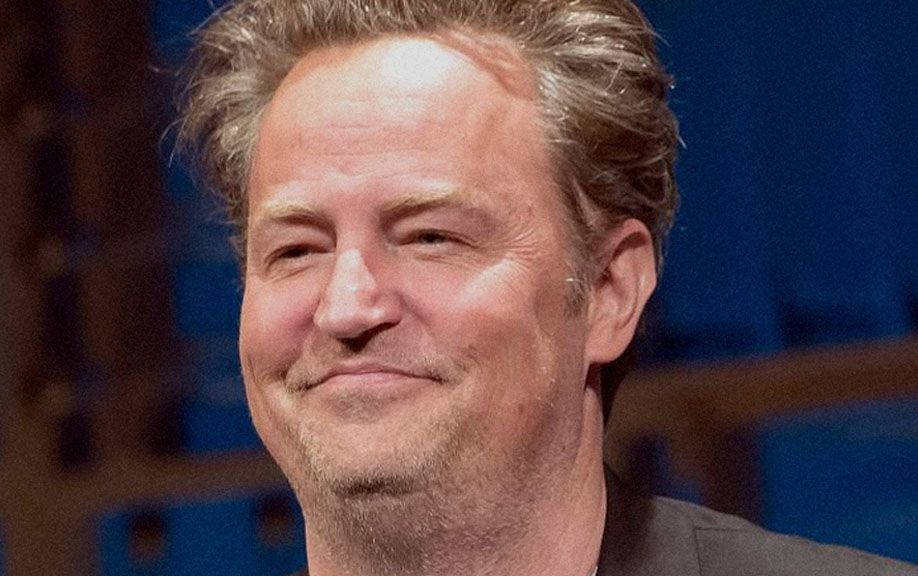 Matthew Perry visits the casino Bellagio in Las Vegas