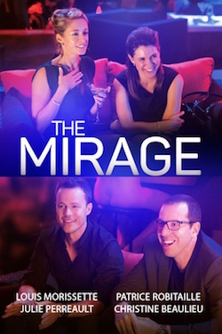 The Mirage poster with the main actors