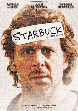 Patrick Huard on the Starbuck poster