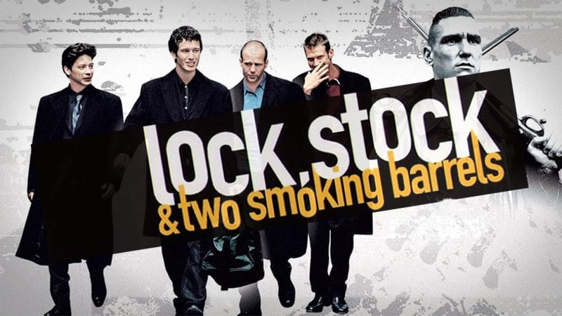 The main characters of the film Lock, Stock and Two Smoking Barrels
